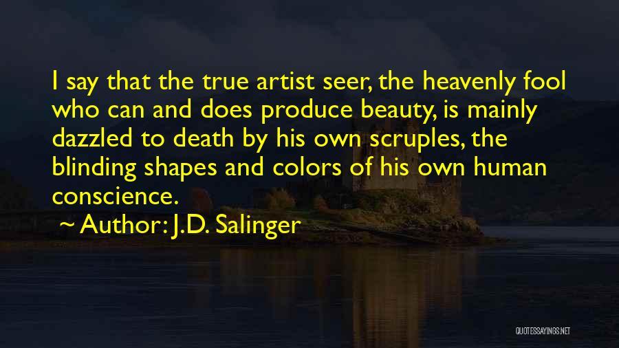 My True Colors Quotes By J.D. Salinger