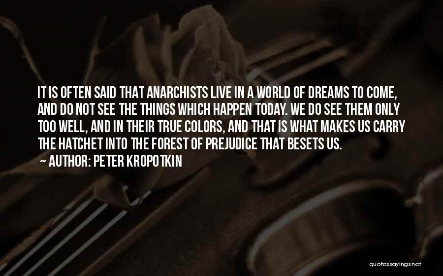 My True Colors Quotes By Peter Kropotkin