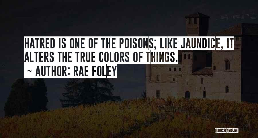 My True Colors Quotes By Rae Foley