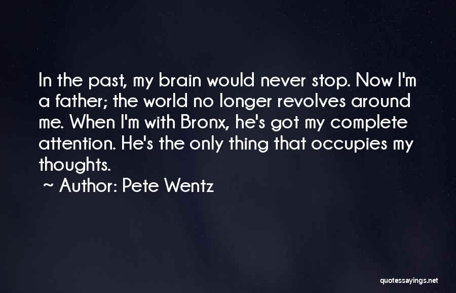 My World Revolves Around You Quotes By Pete Wentz