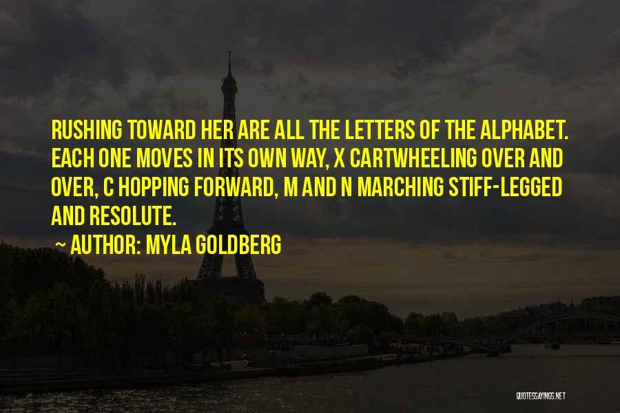 Myla Goldberg Quotes 1779841