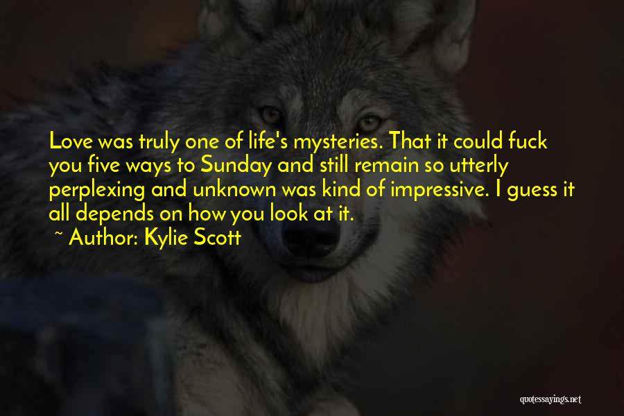 Mysteries Quotes By Kylie Scott