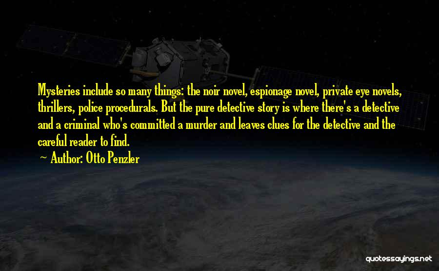 Mysteries Quotes By Otto Penzler