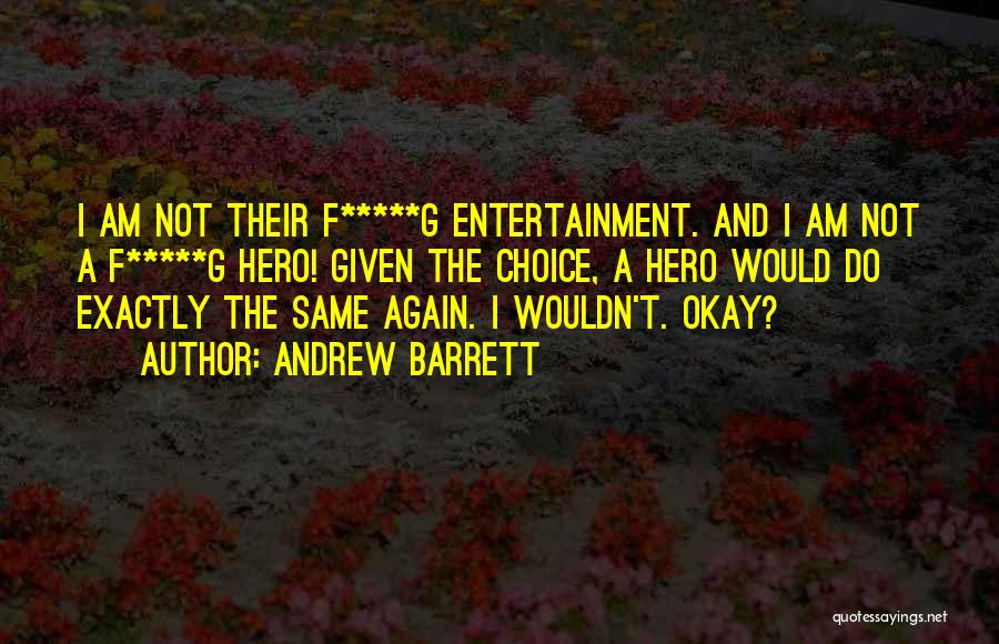 Mystery Thriller Quotes By Andrew Barrett