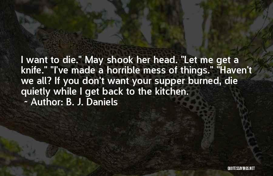 Mystery Thriller Quotes By B. J. Daniels