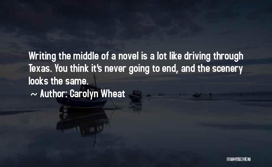 Mystery Thriller Quotes By Carolyn Wheat