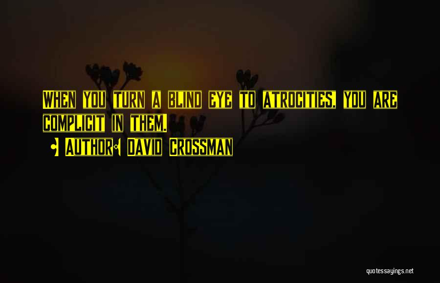 Mystery Thriller Quotes By David Crossman