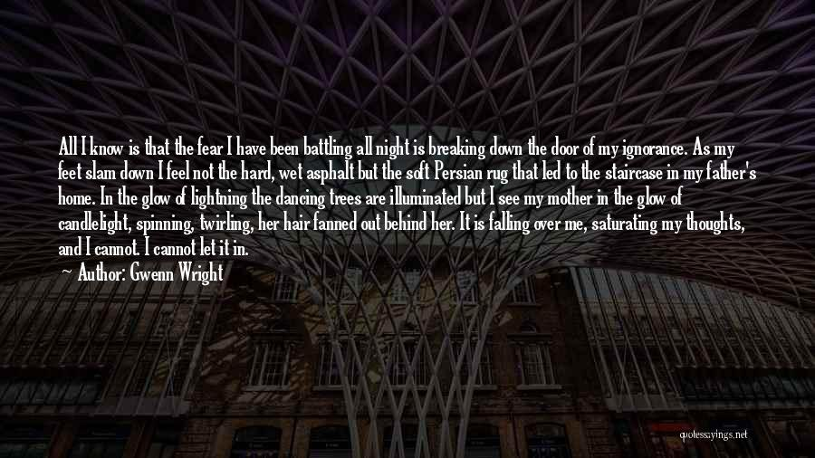 Mystery Thriller Quotes By Gwenn Wright