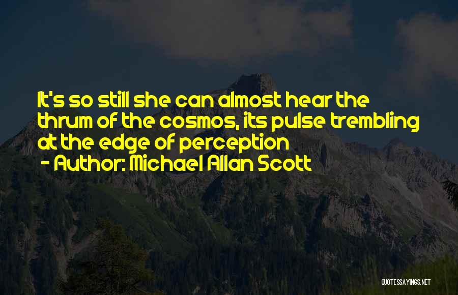 Mystery Thriller Quotes By Michael Allan Scott
