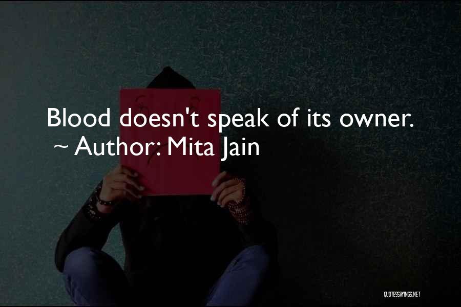 Mystery Thriller Quotes By Mita Jain