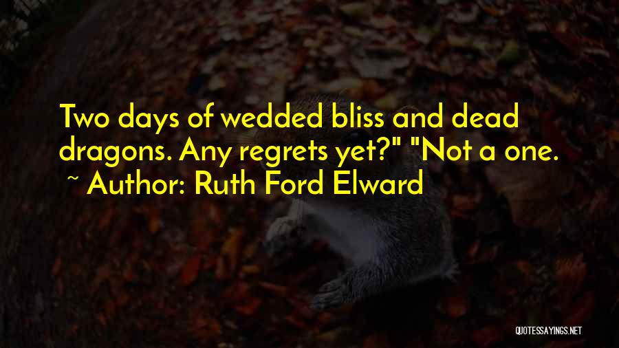 Mystery Thriller Quotes By Ruth Ford Elward