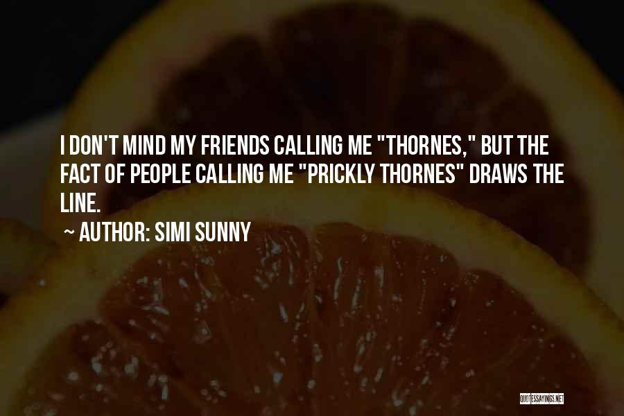 Mystery Thriller Quotes By Simi Sunny