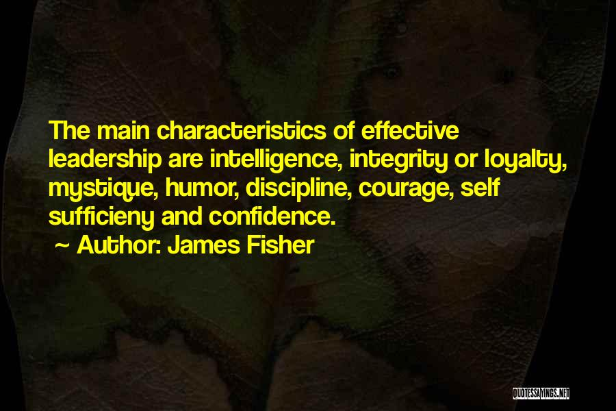 Mystique Quotes By James Fisher