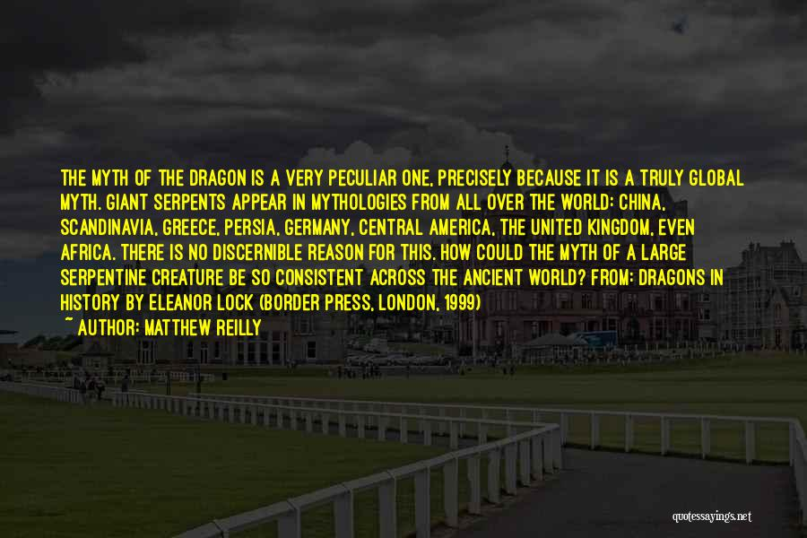 Mythologies Quotes By Matthew Reilly