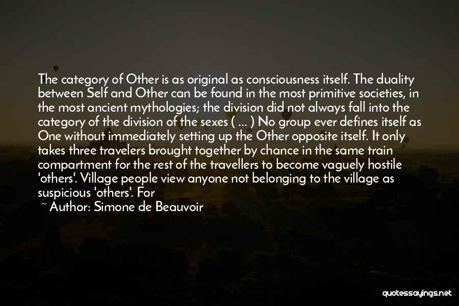 Mythologies Quotes By Simone De Beauvoir