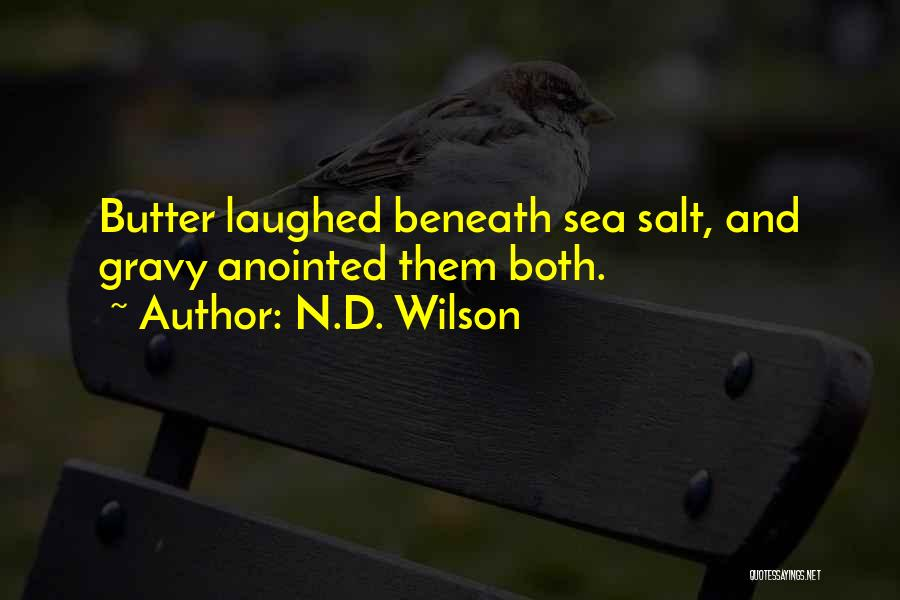 N.D. Wilson Quotes 131134