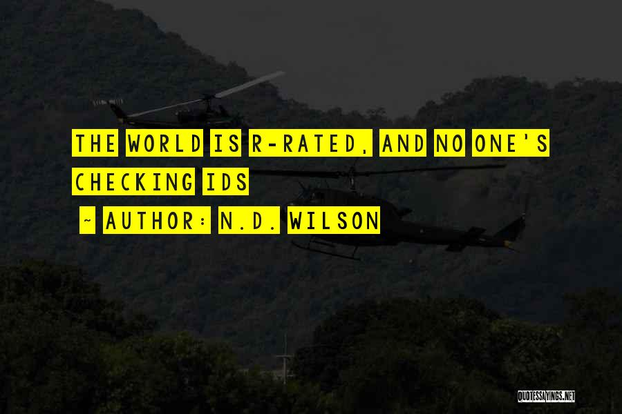 N.D. Wilson Quotes 1968448