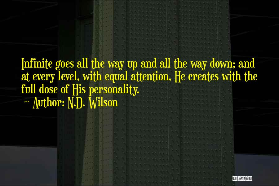 N.D. Wilson Quotes 323726