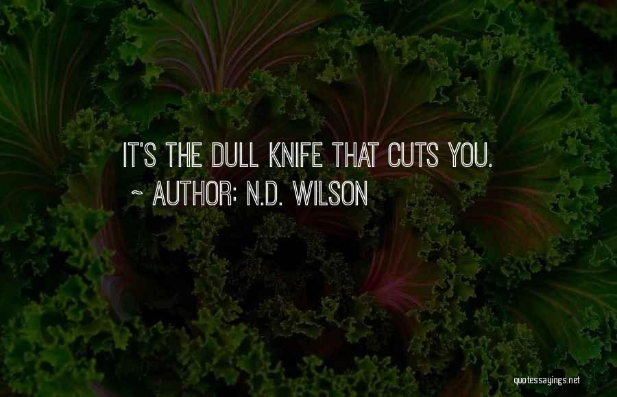 N.D. Wilson Quotes 521067