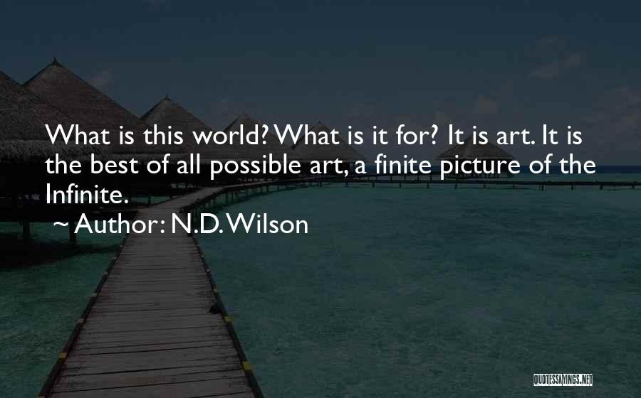 N.D. Wilson Quotes 671183