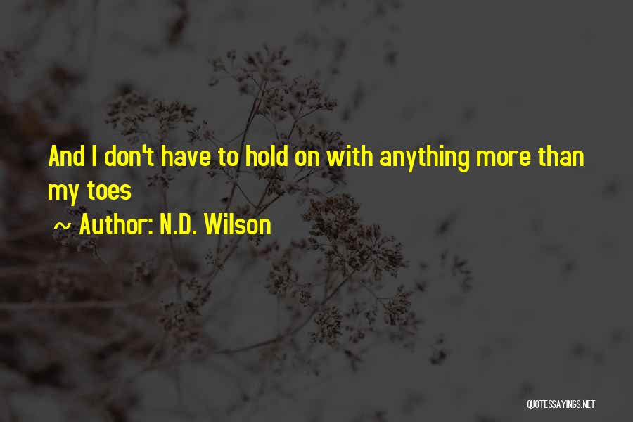 N.D. Wilson Quotes 705678