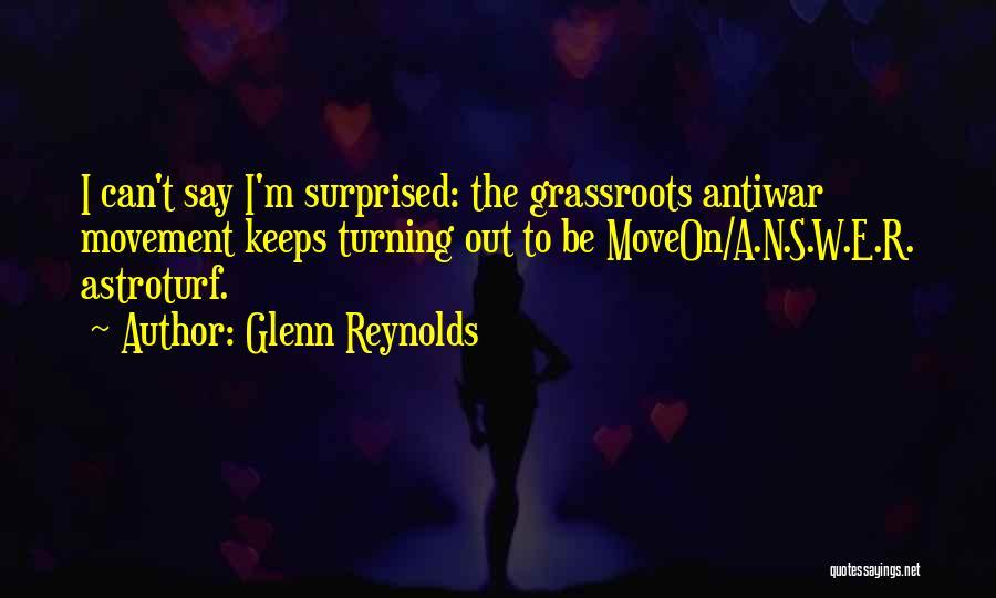 N E W Quotes By Glenn Reynolds