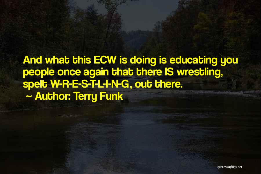 N E W Quotes By Terry Funk