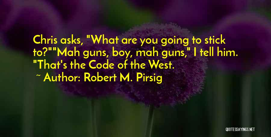 N Mah Quotes By Robert M. Pirsig