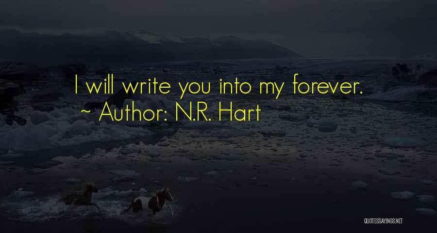 N.R. Hart Quotes 488190