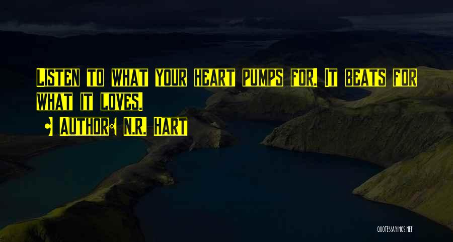N.R. Hart Quotes 883490