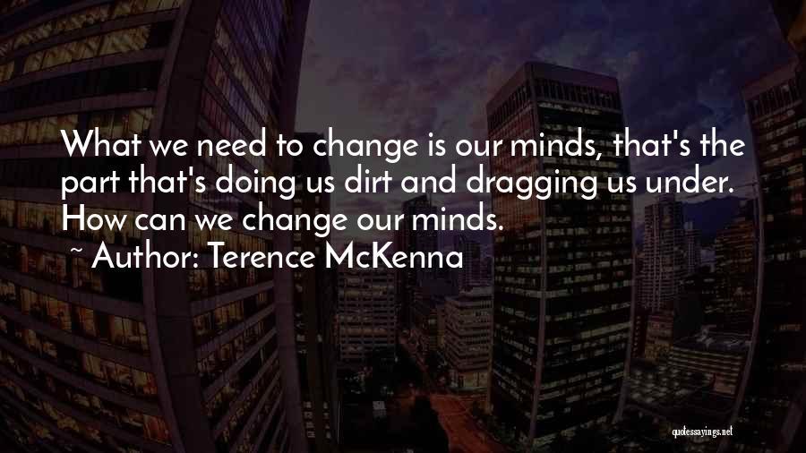 Nagisa Furukawa Quotes By Terence McKenna