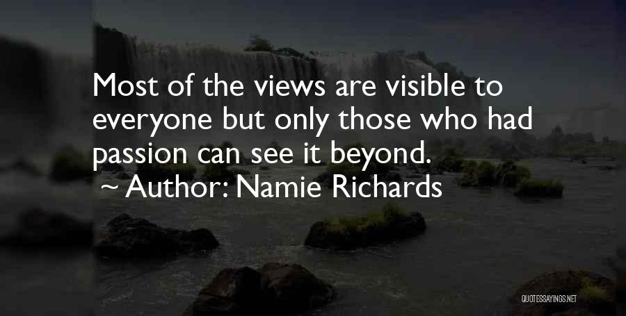 Namie Richards Quotes 902078