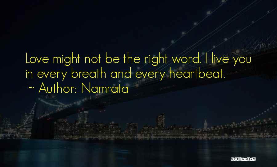 Namrata Quotes 1374222