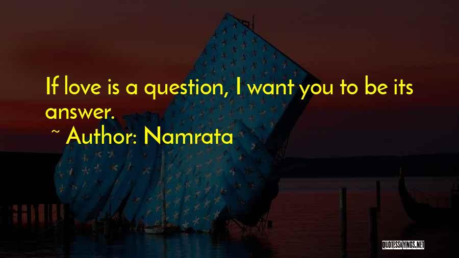 Namrata Quotes 1603218