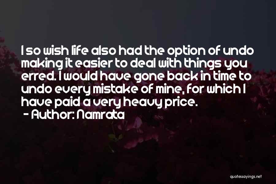 Namrata Quotes 2143425