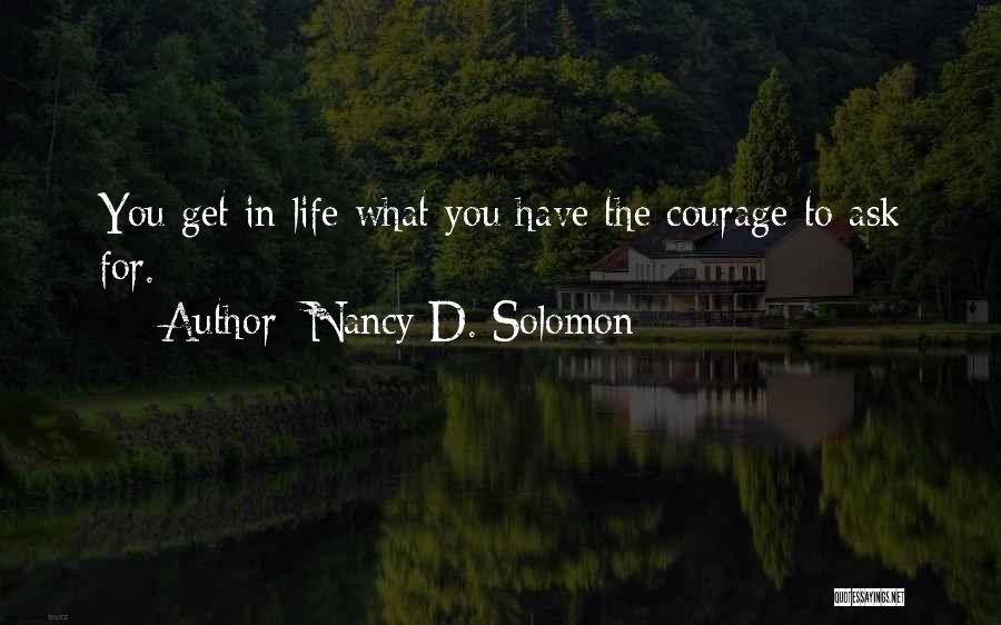 Nancy D. Solomon Quotes 1248042