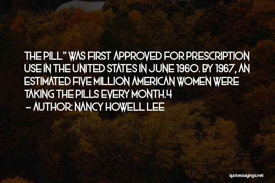 Nancy Howell Lee Quotes 2007213