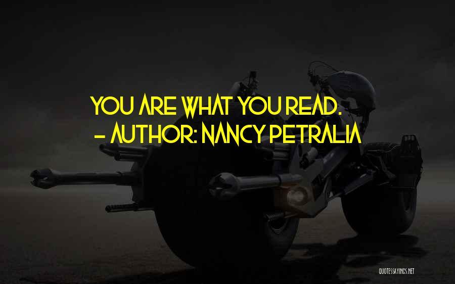 Nancy Petralia Quotes 1408468