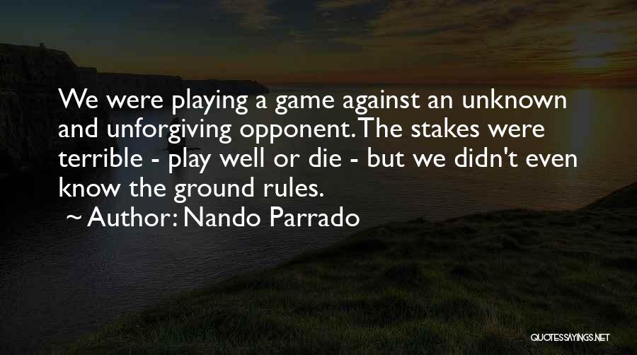 Nando Parrado Quotes 1664071