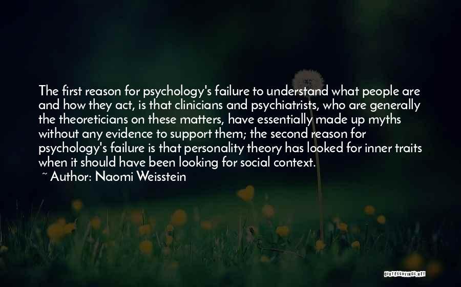 Naomi Weisstein Quotes 1544832