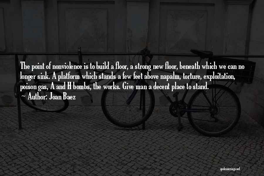 Napalm Quotes By Joan Baez