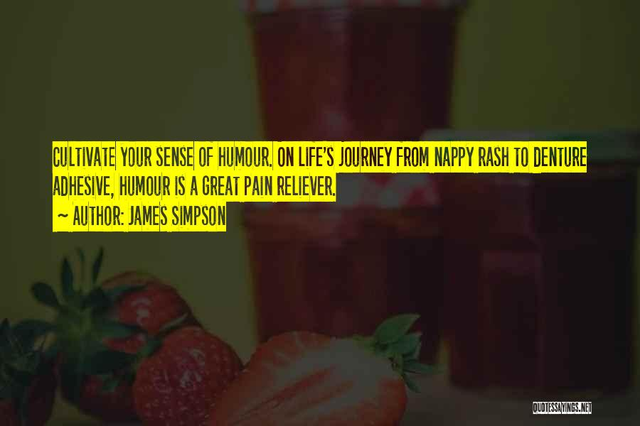 Nappy Quotes By James Simpson