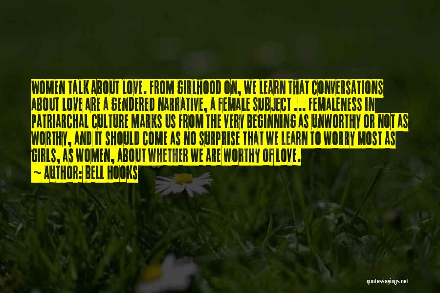 Narrative Love Quotes By Bell Hooks