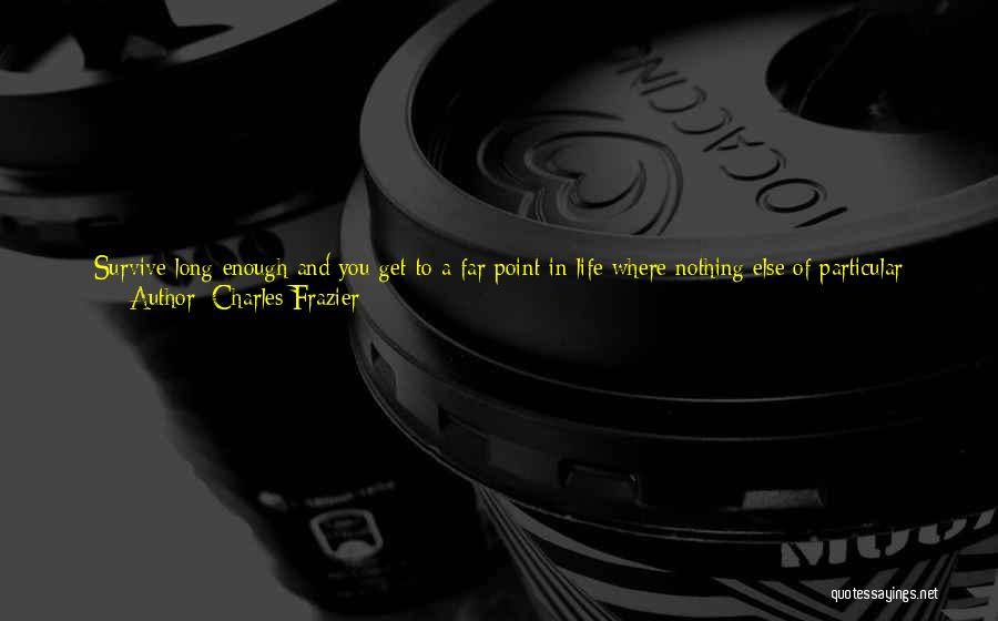 Narrative Love Quotes By Charles Frazier