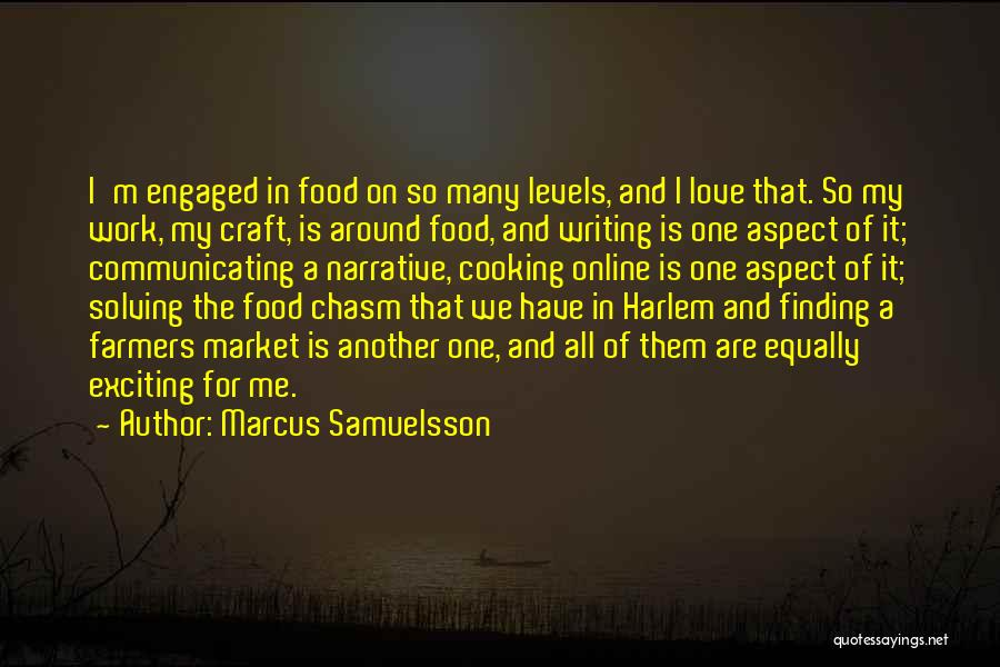 Narrative Love Quotes By Marcus Samuelsson