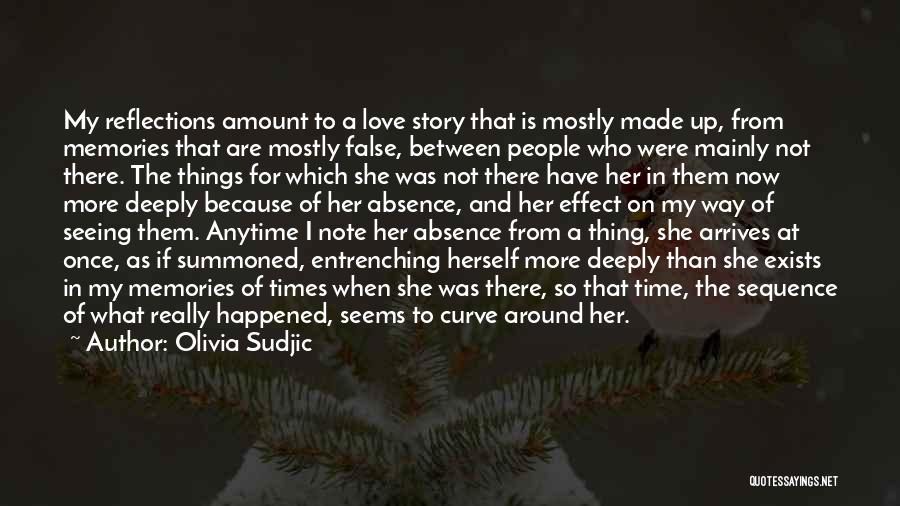 Narrative Love Quotes By Olivia Sudjic