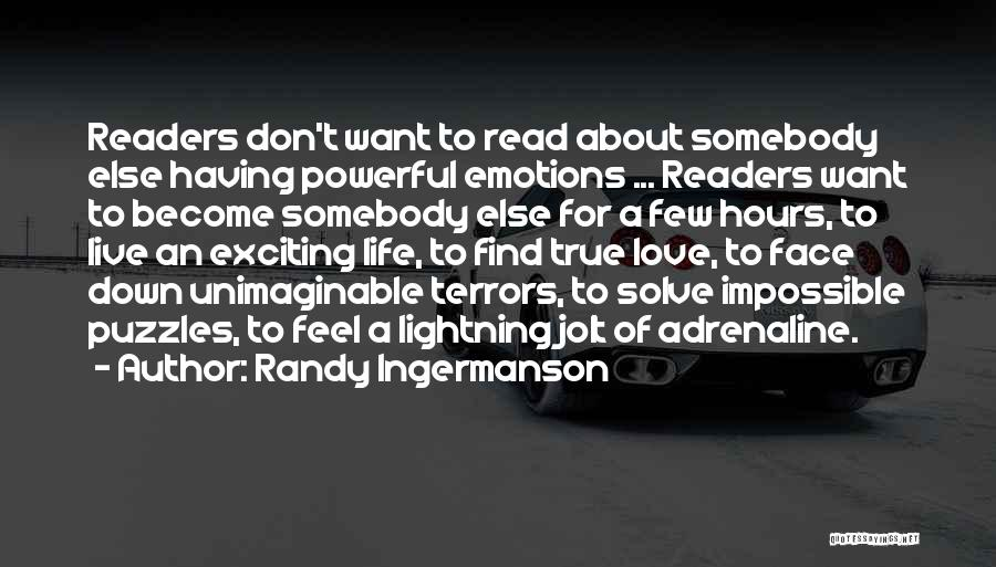 Narrative Love Quotes By Randy Ingermanson