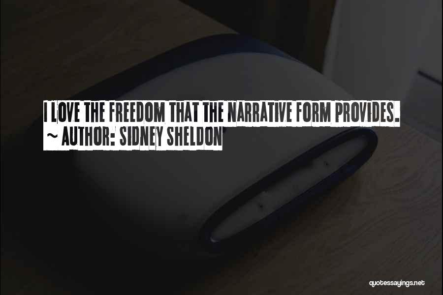 Narrative Love Quotes By Sidney Sheldon