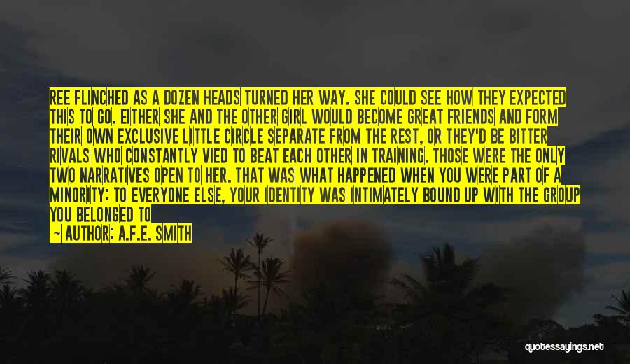 Narratives Quotes By A.F.E. Smith