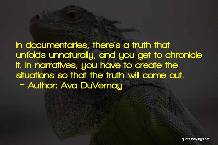 Narratives Quotes By Ava DuVernay